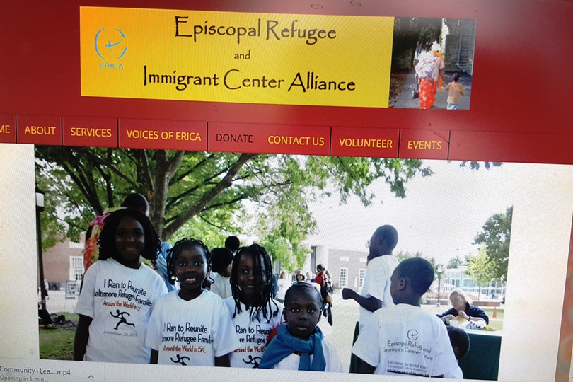 ERICA – Your donation will directly benefit refugees, asylum seekers, and other vulnerable newcomers in Greater Baltimore.