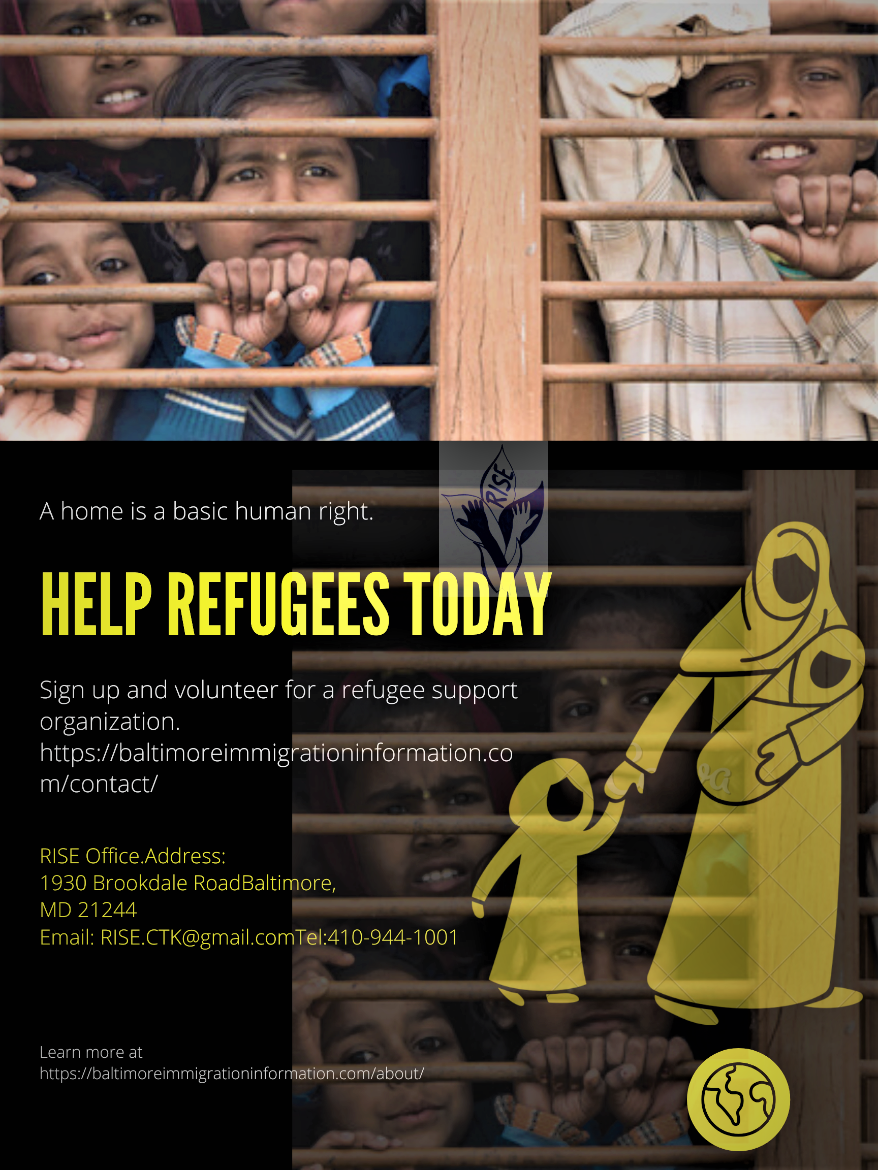 World Refugee Day, June 20th, 2020